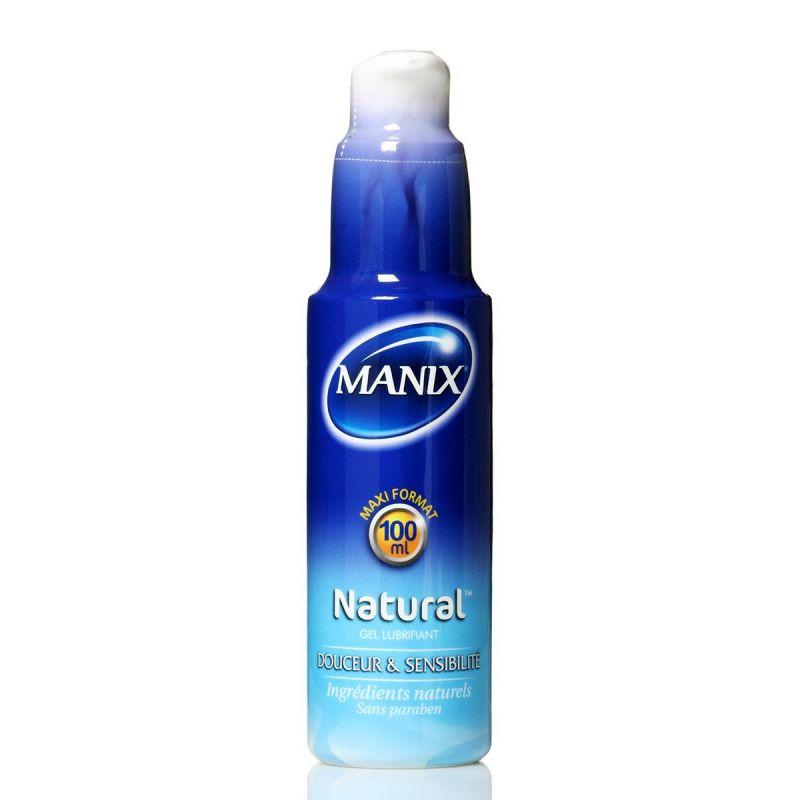 gel lubrifiant manix natural doux et sensible base d 39 eau. Black Bedroom Furniture Sets. Home Design Ideas
