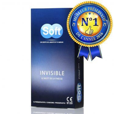 Préservatif Soft Invisible x12