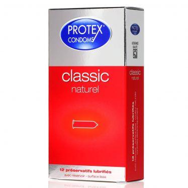 Préservatif Protex Classic Naturel x12