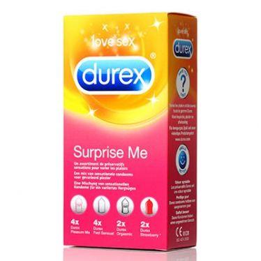 Préservatif Durex Surprise Me x12