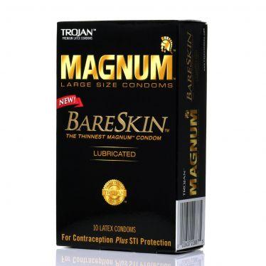 Trojan Magnum  Bareskin x10