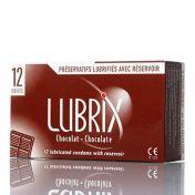 Préservatifs Lubrix Chocolat x12