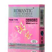 Préservatifs Romantic Tiger Type Magnum x3