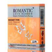 Préservatifs Romantic Rocket Type x3