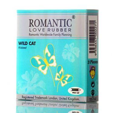 Préservatifs Romantic Wild Cat x3
