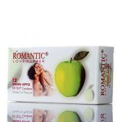Préservatifs Romantic Green Apple x12