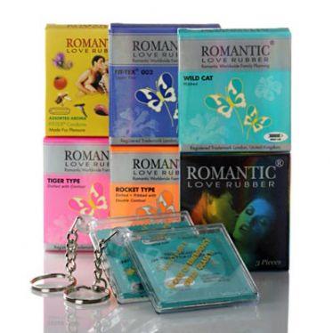 Préservatifs Romantic Love Set