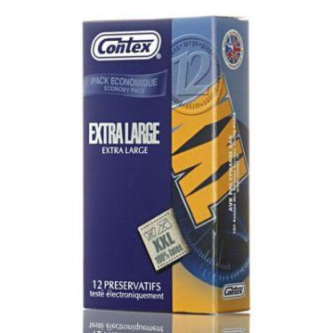 Préservatifs Contex Extra Large x12