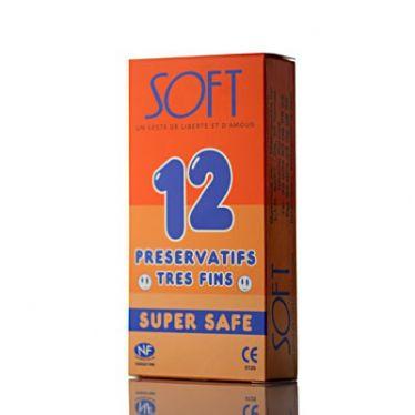 Préservatifs Soft Super Safe