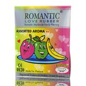 Préservatifs Romantic New Assorted Aroma x3