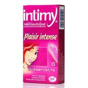 Préservatifs Intimy Plaisir Intense x6