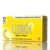 Préservatifs Lubrix Banane x12