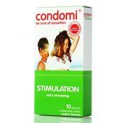 Préservatifs Condomi Stimulation x10