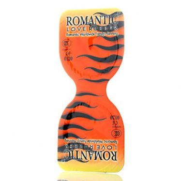 Préservatifs Romantic Powerful Tiger Type x10