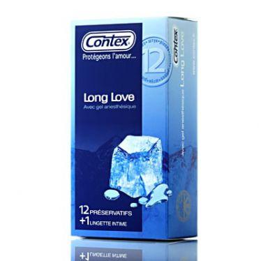 Préservatifs Contex Long Love x12