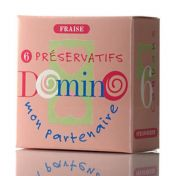 Préservatifs Domino Fraise