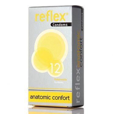 Préservatifs Reflex Condoms Anatomic Confort x12