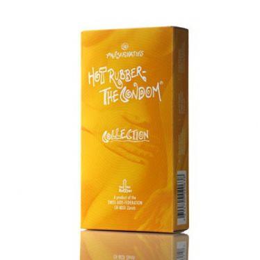 Préservatifs Hot Rubber Collection x10