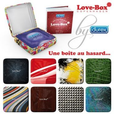 Préservatif Durex Love-Box Pleasure 1x3