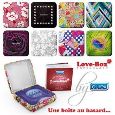 Préservatif Durex Love-Box Feeling 1x3