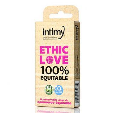 Préservatif Intimy Ethic Love x6