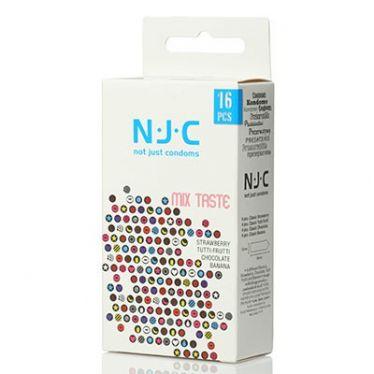 Préservatif N.J.C. Mix Taste x16