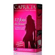 Préservatif Capricia 12 fois du plaisir x12