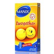 Préservatif Manix Twogether x6