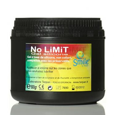 Lubrifiant Smile Silicone No Limit x500gr