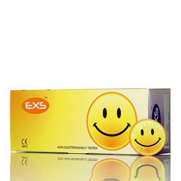 Préservatif EXS Smiley Face x144