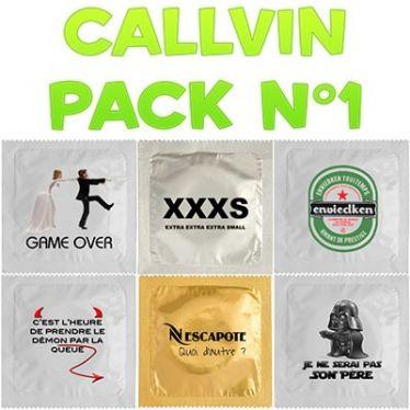 Préservatif Callvin Pack n°1 x6