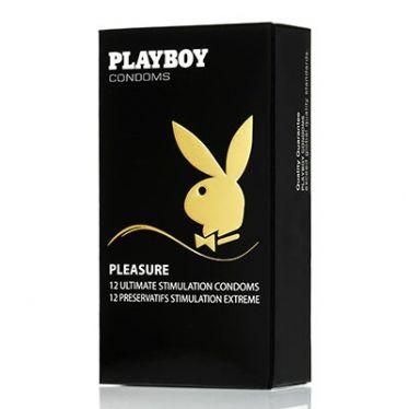 Préservatif Playboy Pleasure x12