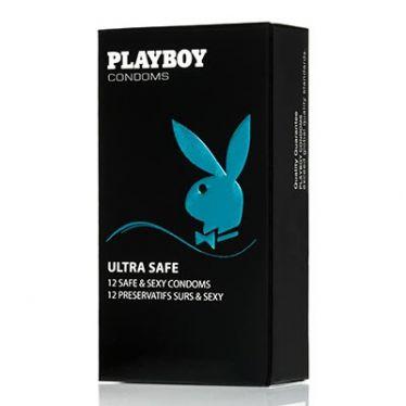 Préservatif Playboy Ultra Safe x12