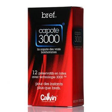 Préservatif Bref Capote 3000 x12