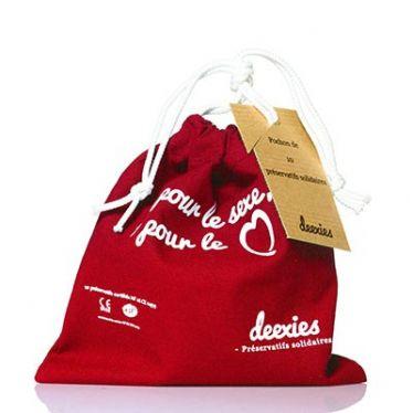 Préservatif Deexies pochette Rouge x10