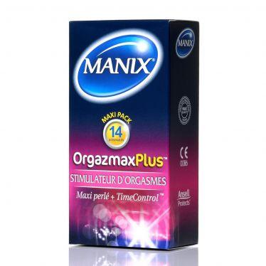 Préservatif Manix OrgazMax Plus x14