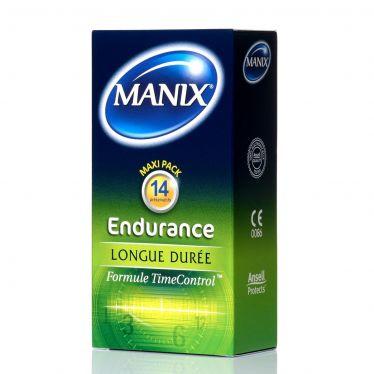 Préservatif Manix Endurance avec TimeControl x14