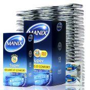 Préservatif Manix Super Pratique x144 ou 28 ou 14