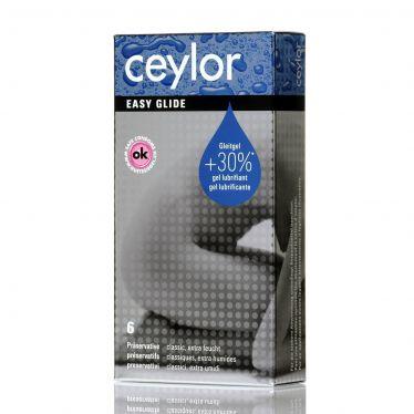 Préservatif Ceylor Easy Glide x6