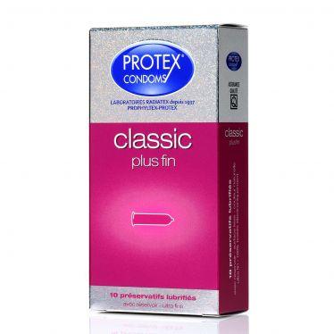 Préservatif Protex Classic Plus Fin x10