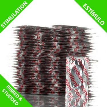 Préservatifs Condomi Stimulation x100