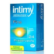 Préservatifs Intimy Fin x24