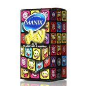 Préservatif Manix Play x16