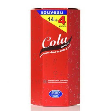 Préservatif Protex Cola x18