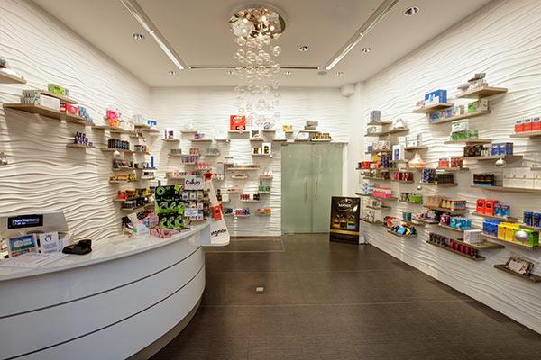 Intérieur boutique du Roi de la Capote