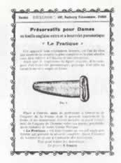 Le premier préservatif féminin