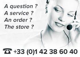 Call us at +33 1 42 38 60 40