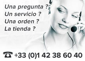 Llámenos al +33 1 42 38 60 40