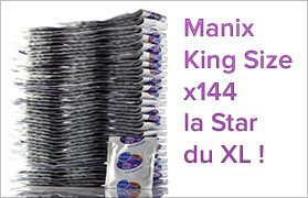 The Manix Star XL King Size in latex