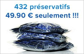 Préservatifs Reflex x432